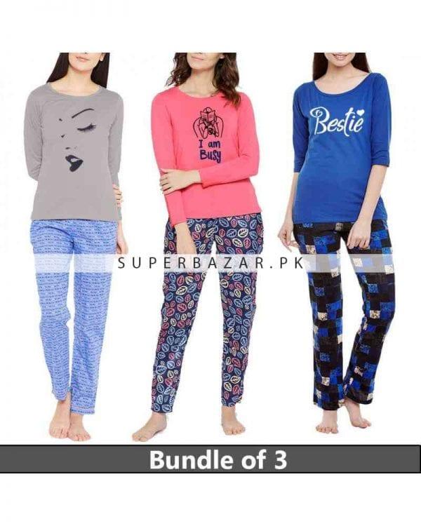 3 Super Bazar T Shirt Pajama 2 Copy