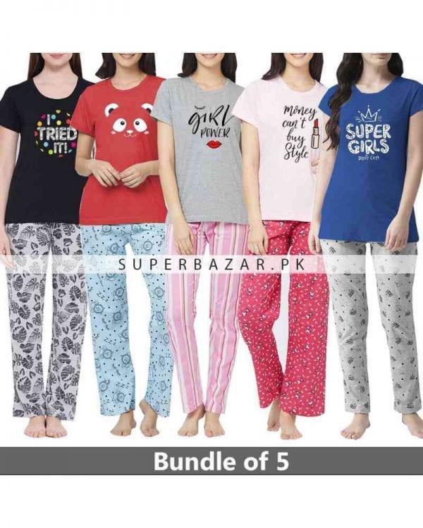 Super bazar T Shirt pajama half Sleeves 10