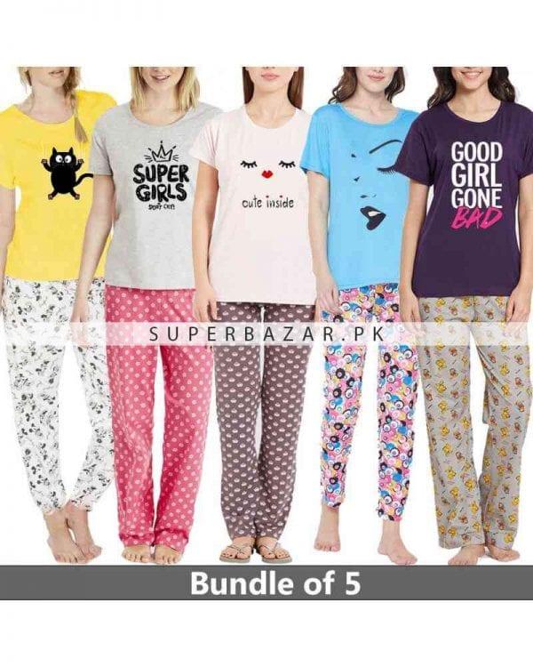 Super bazar T Shirt pajama half Sleeves 2