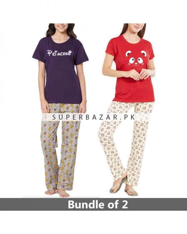 Super bazar T Shirt pajama half Sleeves 3