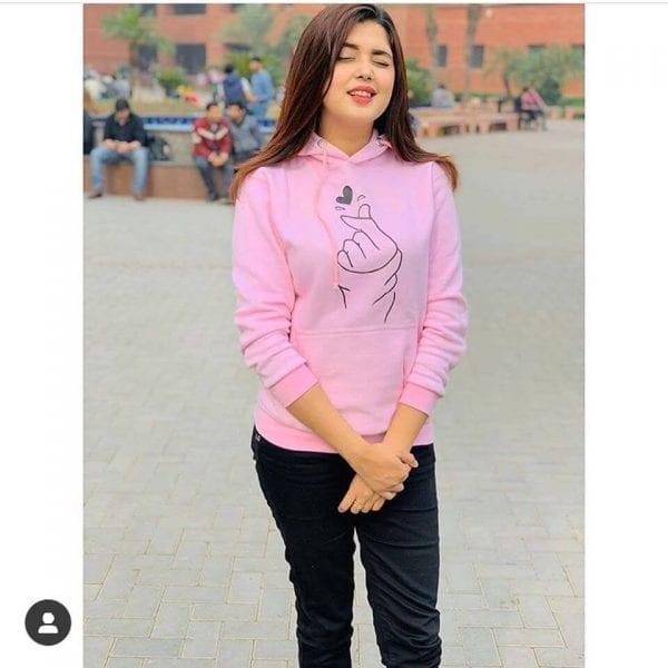 Super bazar pink hoodie 3