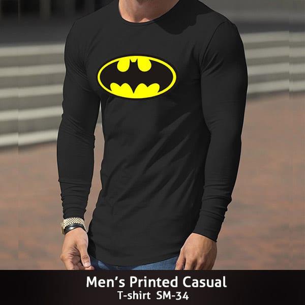 Mens Printed Casual T shirt SM 34 600x600 1