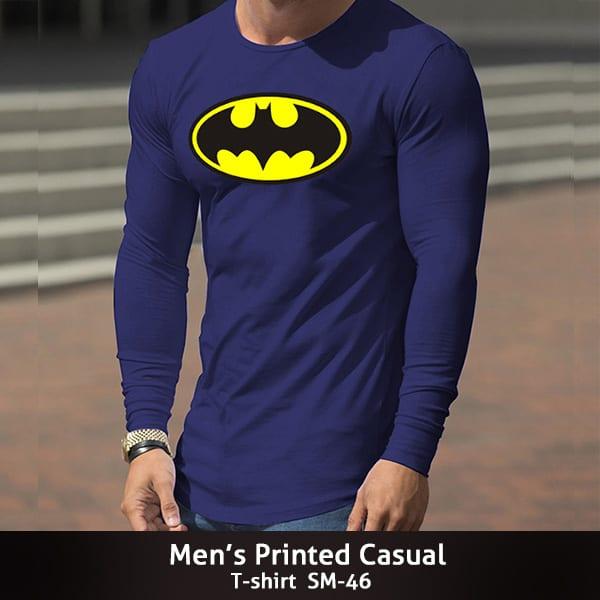 Mens Printed Casual T shirt SM 46 600x600 1