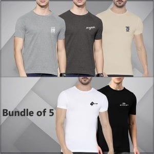 Super bazar 5 plain T-Shirt 4