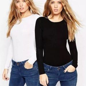 white black t-shirt
