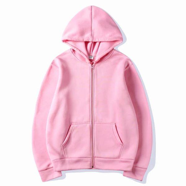 Super Bazar Shopping zipper hoodie 1