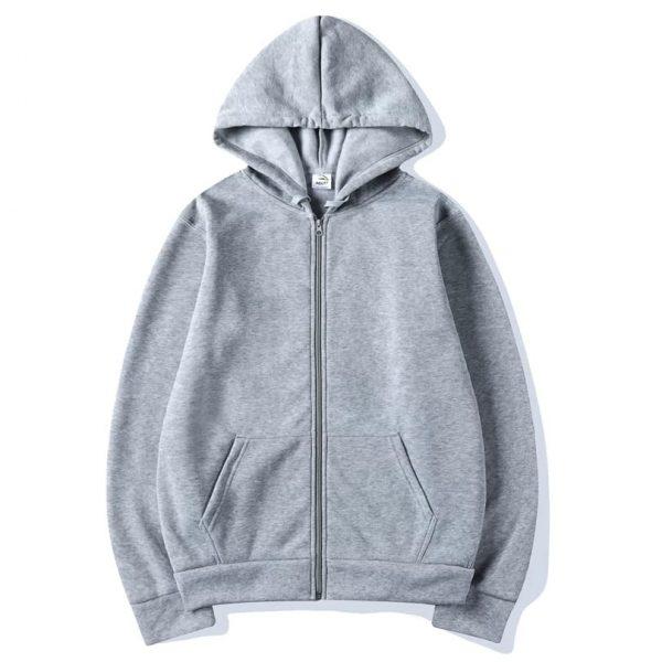 Super Bazar Shopping zipper hoodie 2