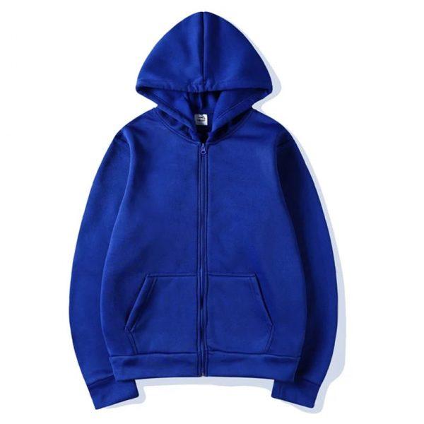 Super Bazar Shopping zipper hoodie 3