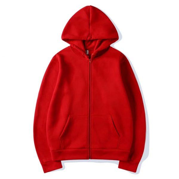 Super Bazar Shopping zipper hoodie 4